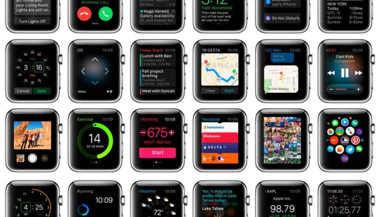 Top-32 best and useful applications and programs for Apple Watch