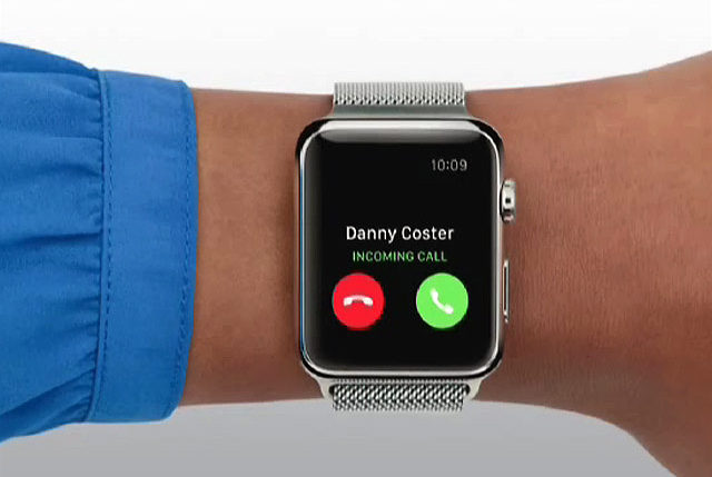 Can you call using Apple Watch?