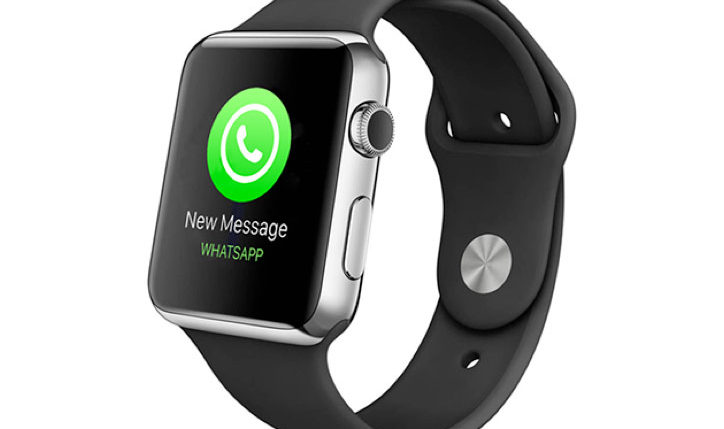 How can you install the WhatsApp messenger on Apple Watch?