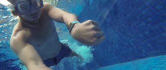 Water procedures with Apple Watch Series 3