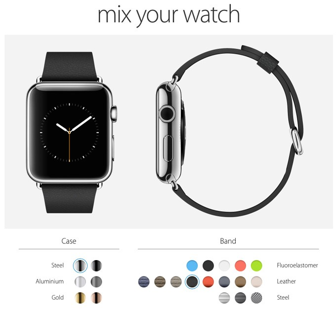 What color of the Apple Watch is better to choose?
