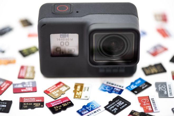 The top 8 reasons why action camera does not read a memory card?