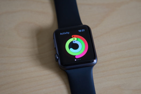 What is Activity with a warmup on Apple Watch?