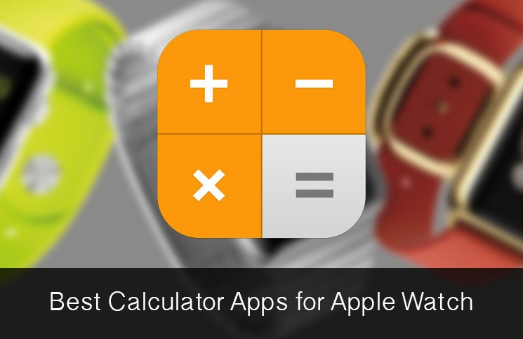What calculator apps are available for Apple Watch?