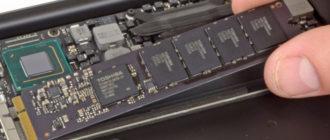 What types of SSD do different series of MacBook Air has?