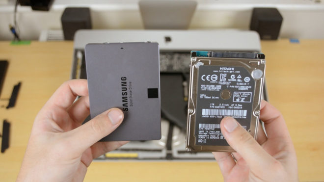 SSD drives for iMac