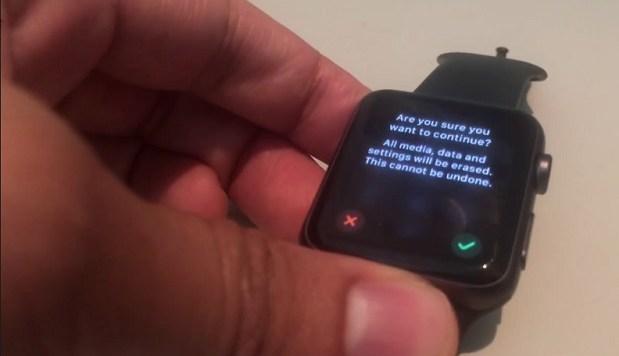 Как сбросить Apple Watch на заводские настройки
