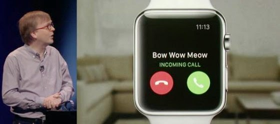 Talk to Apple Watch