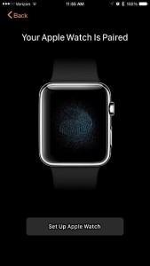 Соединение Apple Watch с iPhone