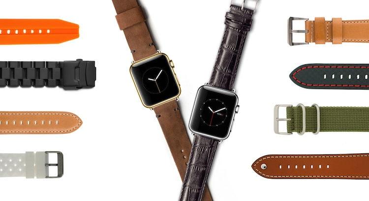 Как заменить ремешок на Apple Watch