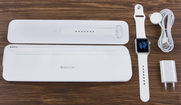 What's in the Apple Watch kit from the manufacturer