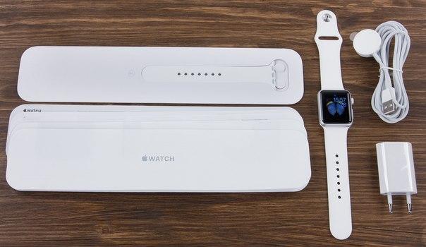 Что входит в комплект Apple Watch от производителя