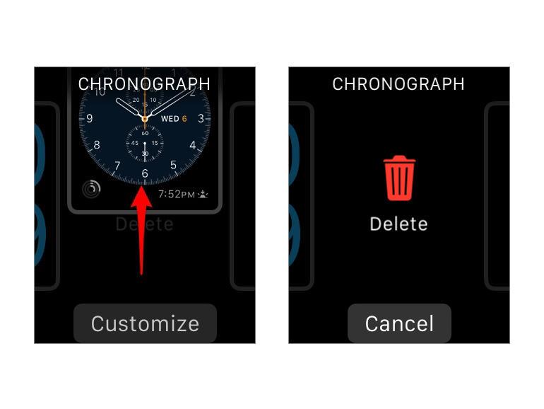 Как поменять темe обоев на Apple Watch