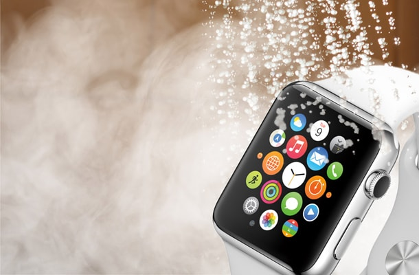Can I swim with Apple Watch in the water?