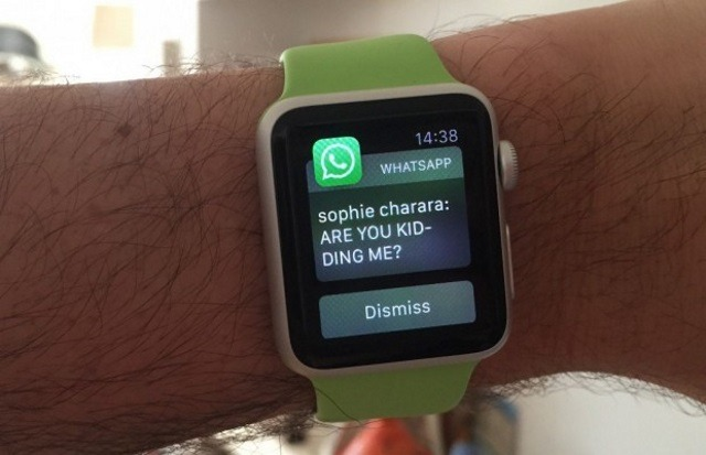 Как установить WhatsApp на Apple Watch?