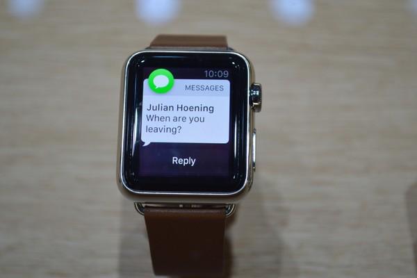 Уведомления из WhatsApp в iWatch