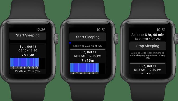 Приложения по отслеживанию и анализу сна для Apple Watch
