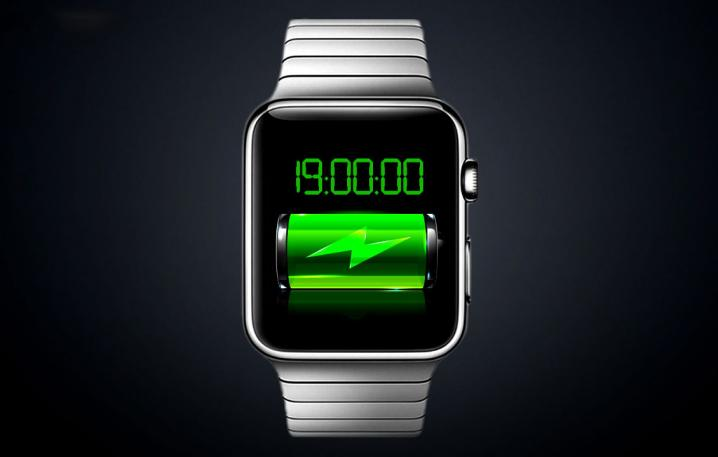 How much does an Apple Watch battery hold?