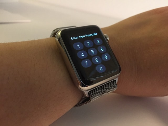 Как отключить пароль на Apple Watch?