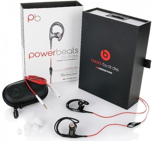 Комплектация наушников PowerBeats