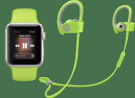 Беспроводные наушники Beats Powerbeats для Apple Watch