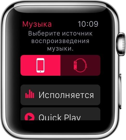 Музыка и рингтоны на iWatch через iPhone
