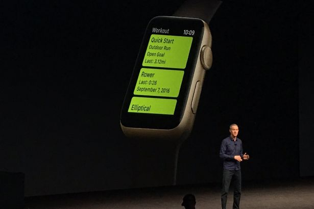 Official presentation of Apple Watch 2