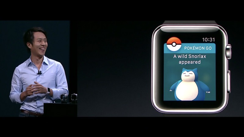 Pokemon Go на Apple Watch 2