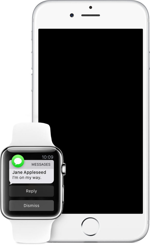 Уведомления между iPhone и Apple Watch