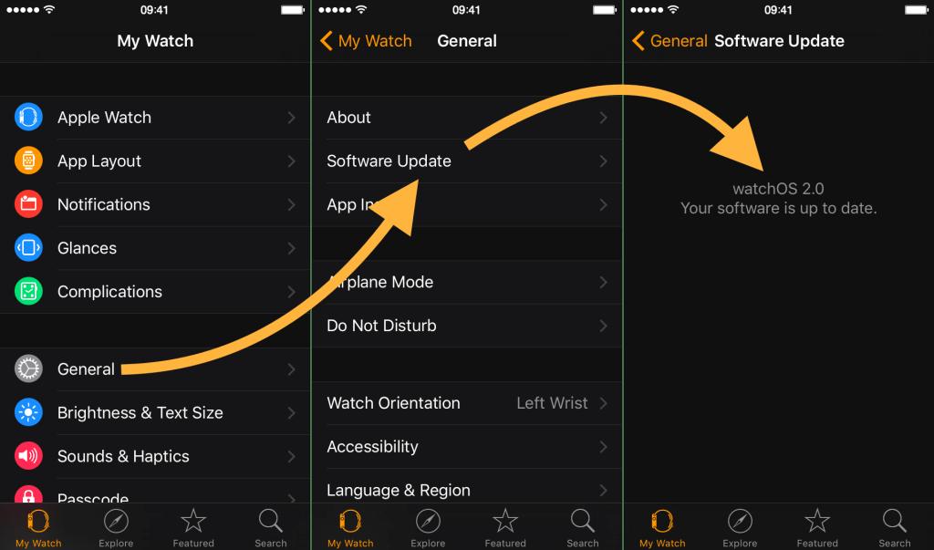 Как обновить и прошить Watch OS на смарт-часах?