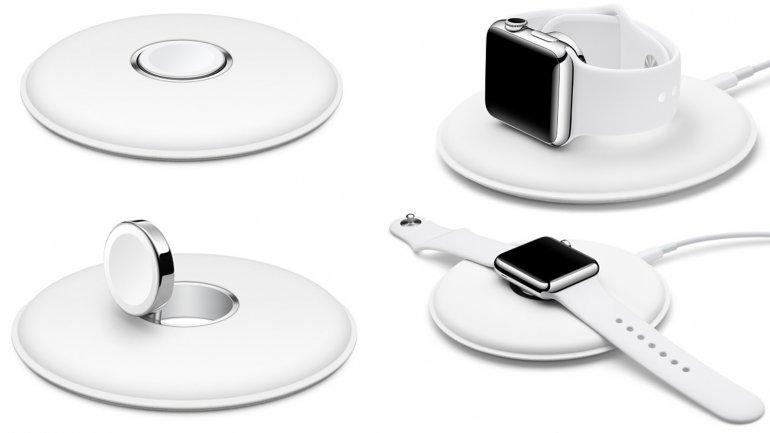 Беспроводная магнитная зарядка для Apple Watch