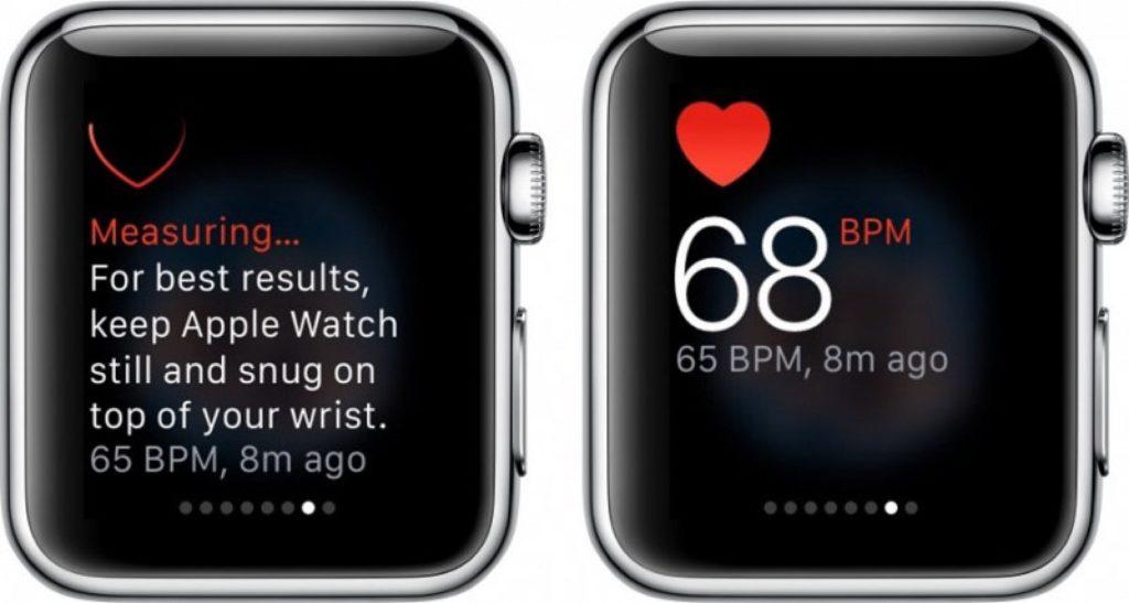 Как замерить пульс на смарт-часах Apple Watch?