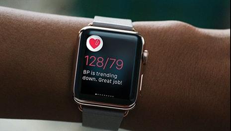 Данные об измерение пульса на Apple Watch