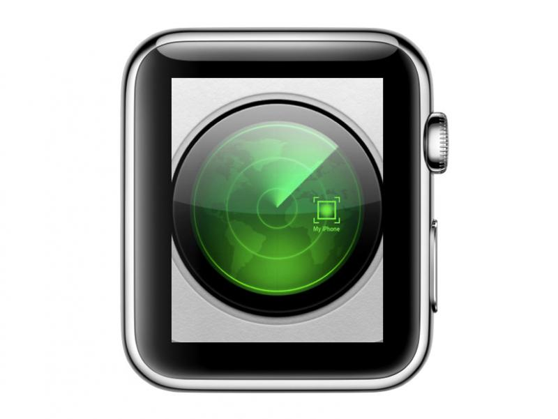 Найти с Apple Watch потерявшийся iPhone