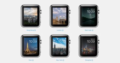 Apple Watch time-lapse watch faces