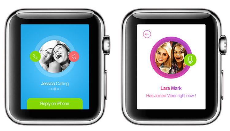 Как установить Viber на Apple Watch?