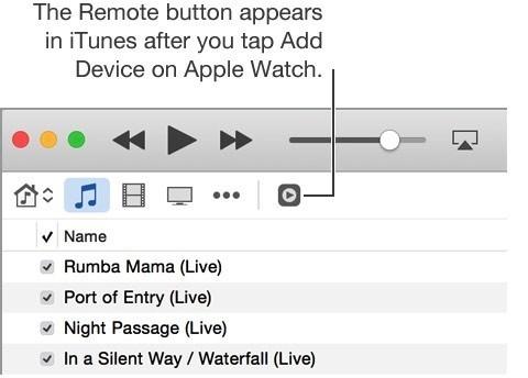 Подключение Apple Watch к iTunes
