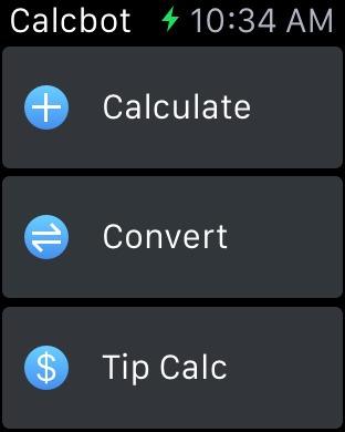 Расчет чаевых, арифметические операции, конвертация валют в CalcBot