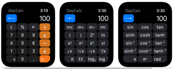 DayCalc Заметка Калькулятор