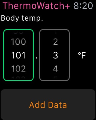 App Thermo Watch+