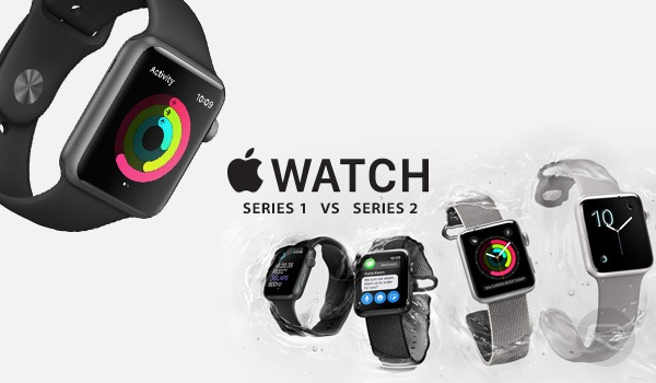 Cравнение Apple Watch Series 1 и 2