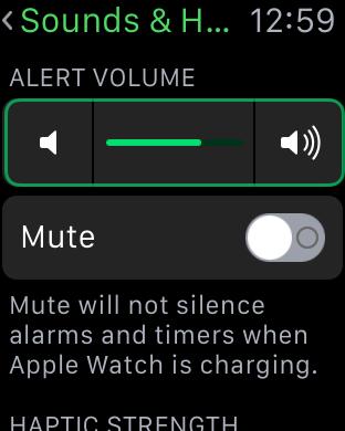 Как изменить звук Apple Watch?