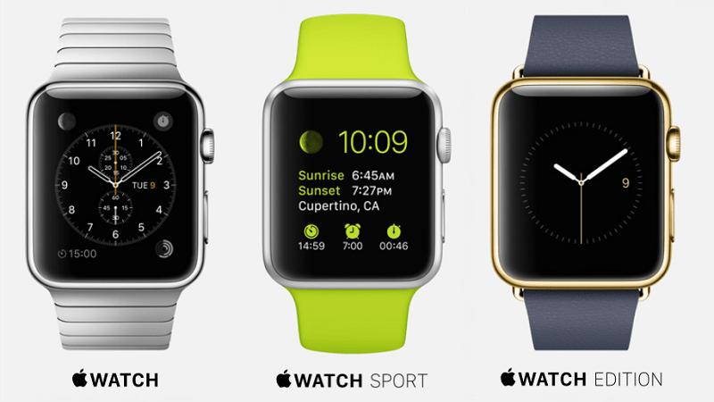 Чем отличаются модели Apple Watch: классическая, Edition, Sport друг от друга?