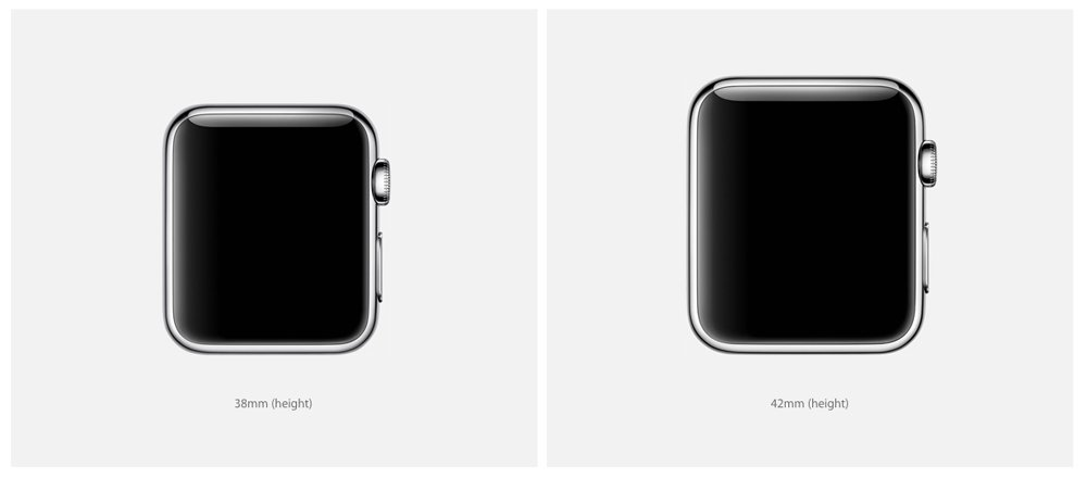 ¿Qué es mejor Apple Watch 38 mm o 42 mm