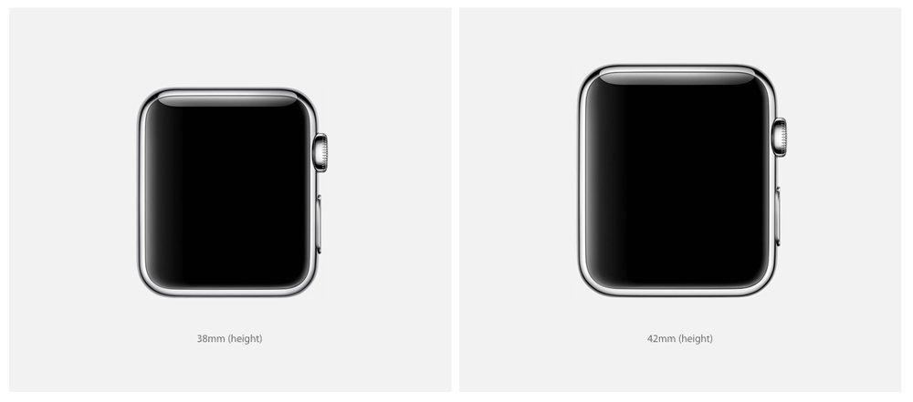 Что лучше Apple Watch 38 мм или 42 мм?