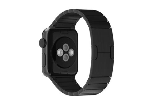 Apple Ремешок Watch 38мм, блочный черный MJ5H2ZM/A