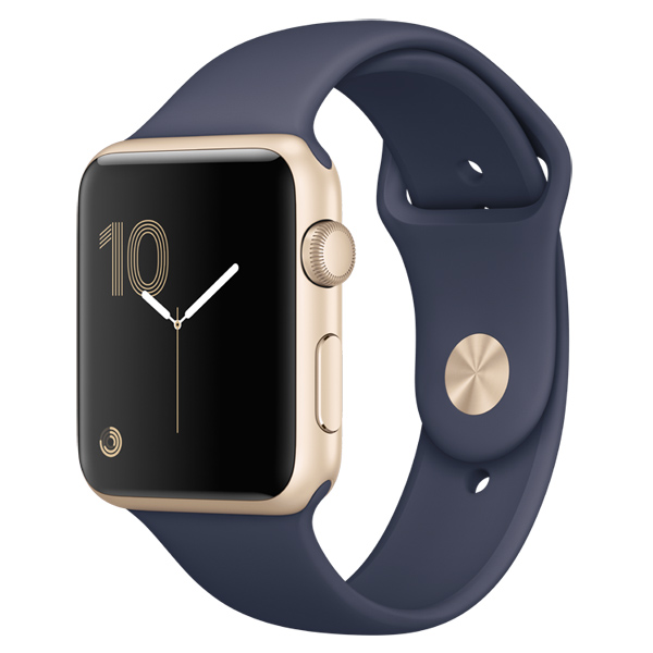 Смарт-часы Apple Watch S1 Sport 42mm Gold Al/Blue (MQ122RU/A)