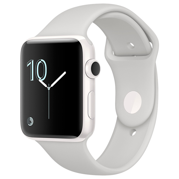Смарт-часы Apple Watch Edition 42mm WhCer/Cloud SpBand (MNPQ2RU/A)
