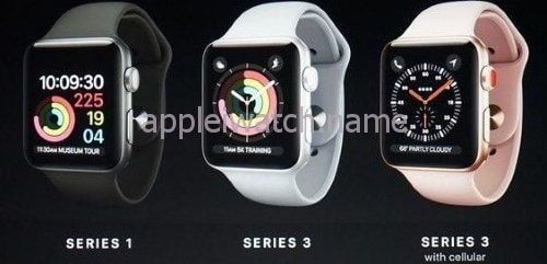 1930618234e19 Comparison of apple watch series 3 with other versions of smart watches