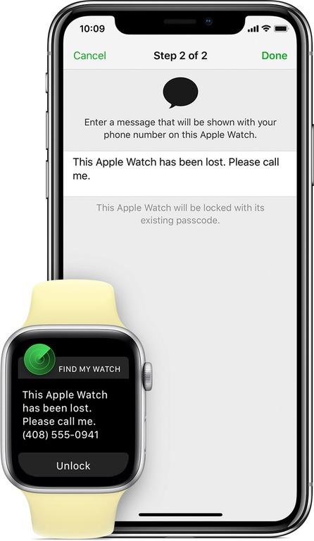 Что делать в случае потери Apple Watch